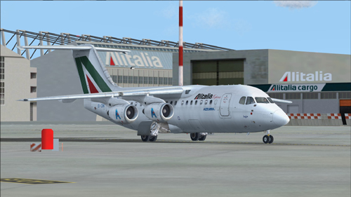 FS9 QualityWings Ultimate 146 Collection Alitalia Express