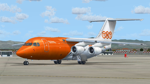 FS9 I-TNTC  MISTRAL AIR RJ85