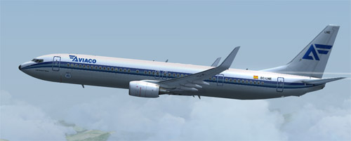 FSX B900ER Fictional Aviaco Retro80s