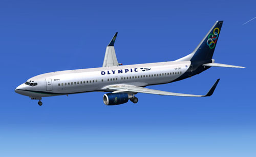 FSX Olympic B800  fictional