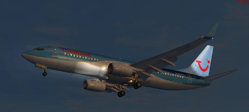 FSX Thomson Dreamliner B800