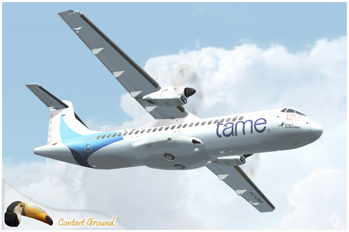 Tame Ecuador Flight1 ATR 72-500