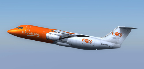 QWings RJ100 TNT - FS9