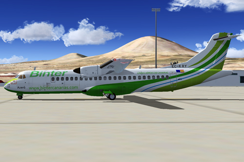 Binter Canarias ATR EC-KRY