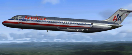 Coolsky DC-9  AMERICAN old colors