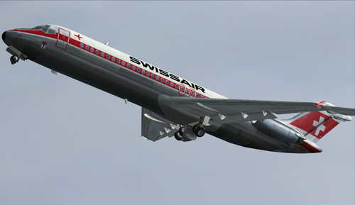 flight1 file library system coolsky dc 9 in swissair livery. Black Bedroom Furniture Sets. Home Design Ideas