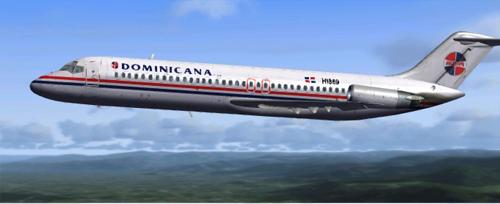 Coolsky DC-9 PAWA DOMINICANA HI869