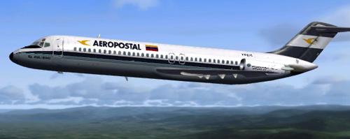 Coolsky DC-9 AEROPOSTAL YV-21C