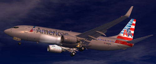 FSX American Airlines N908NN Expansion Pack