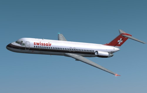 Coolsky DC-9 Classic Swissair