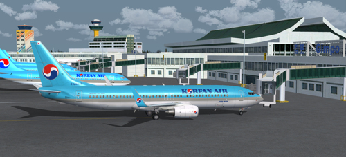 FSX iFly 737-800 Korean Air HL8247