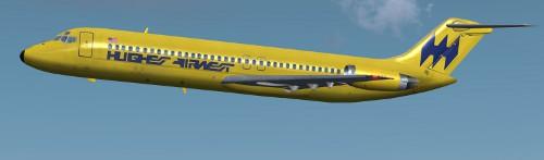 DC-9 Classic, Hughes Airwest