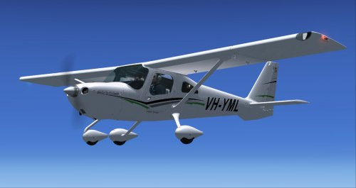 Cessna Apple Green VH-YML