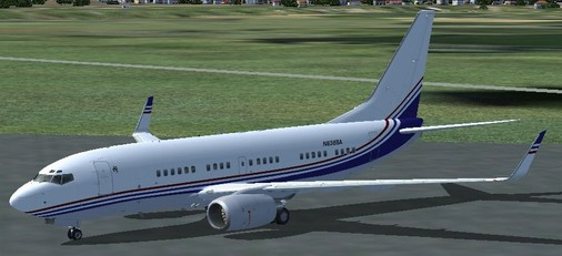 FS9, Boeing 737-7BCBBJ; MSN: 30756; Boeing; Reg.: N836BA
