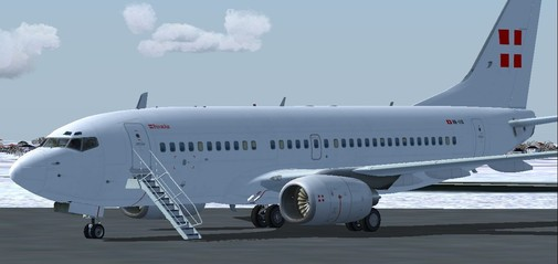 FS9 B737-7CN BBJ; MSN: 30752; Privatair; Reg: HB-IIQ