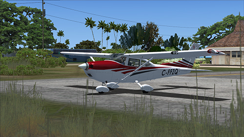 Cessna T182T with Canadian registration C-FFZQ.