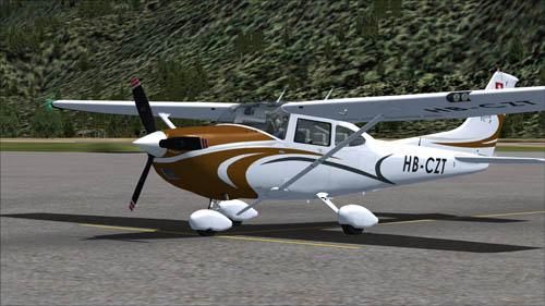 Cessna T182T with Swiss registration HB-CZT