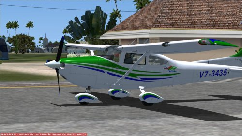 FSX Cessna 182T Skylane Marshall Islands registration V7-3435