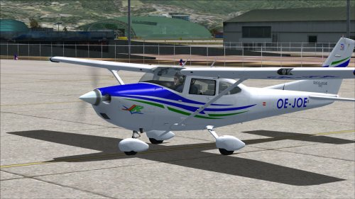 Cessna 182T Skylane Austrian Registration OE-JOE