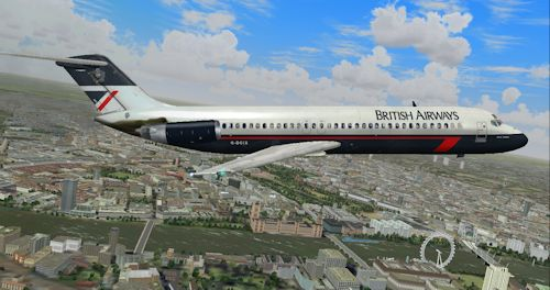 Fictional British Airways Landor