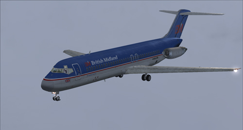 Coolsky DC-9 in BMA colors circa 1995