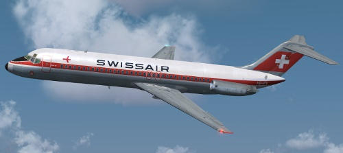 Swissair DC-9-32 HB-IFV
