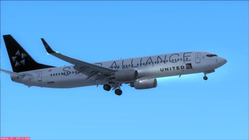 FS9 United Star Alliance B737-900R fictional FIX.