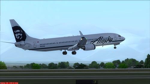 Alaska Airlines FS9 B737-900ER