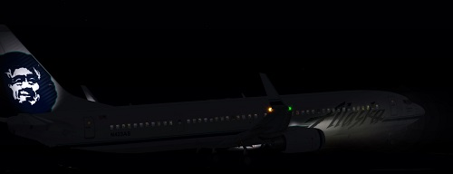 FS9 Alaska B737-900ER NIGHT texture fixes.