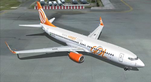 FS9 GOL Linhas Aereas 737-800WL