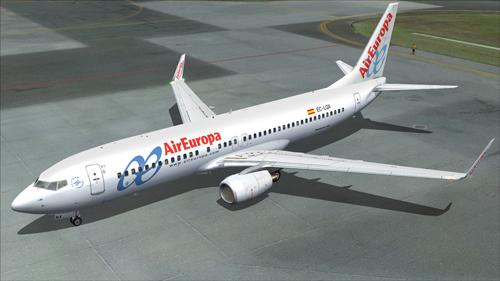 FS9 Air Europa 737-800NG EC-JHL