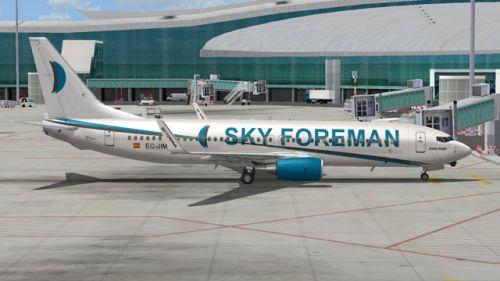 FS9 B737-800 Winglets skyforman.