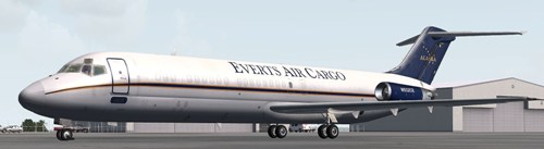 Coolsky DC-9-30F in Everts Air Cargo scheme (N932CE)
