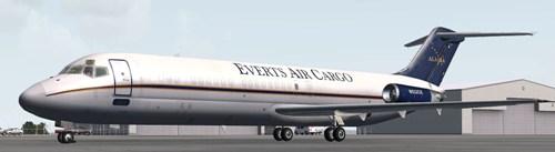 Coolsky DC-9-30F in Everts Air Cargo scheme (N932CE)