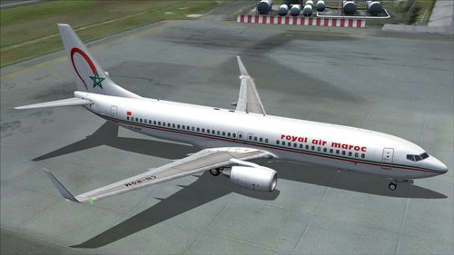FS9 iFly 737-800 Royal Air Maroc