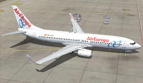 FS9 Air Europa 737-800NG EC-LYR
