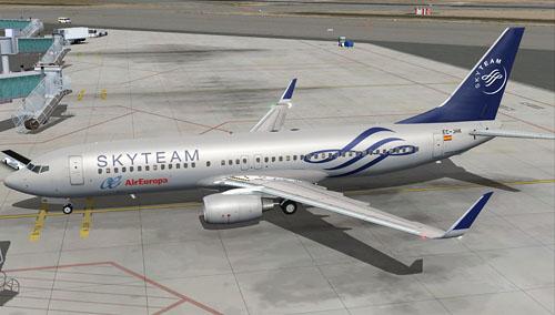 iFly 737-800 Air Europa EC-JHK
