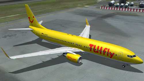FS9 iFly 737-800 Tuifly Germany