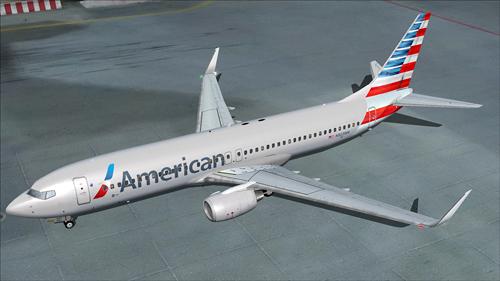 FS9 iFly 737-800 American Airlines N923NN