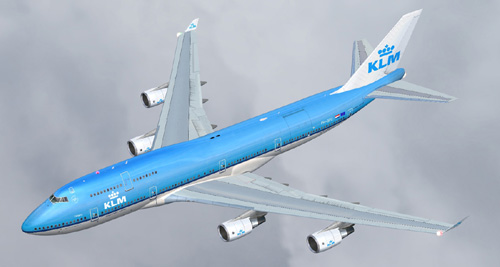 FS9 iFly 747-400 KLM PH-BFC