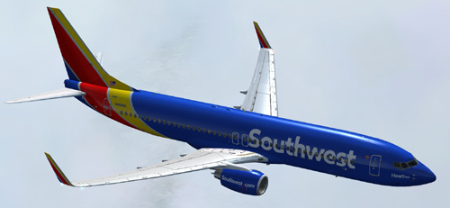 FS9 Southwest Airlines Heart Two