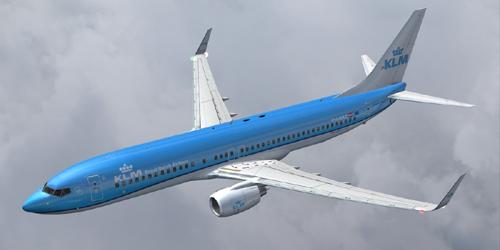 FS9 737-800 KLM New Livery