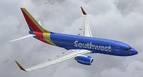 FS9 iFly B737-700 New Southwest