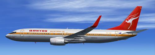 FS9 iFly 737-800 New Qantas