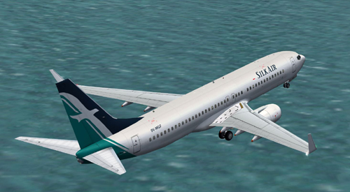 FS9 iFly 737-800 SilkAir 9V-MGF