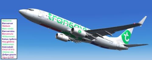 FS9 iFly 737-800 Transavia SD