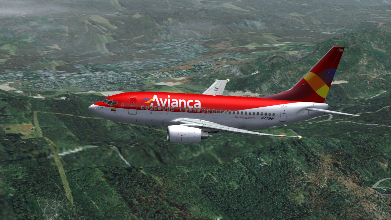 FS9 iFly 737-600 Avianca (Fictitious)