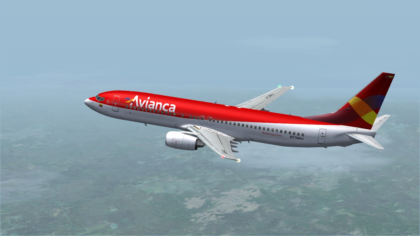 FS9 iFly 737-800 Avianca (Fictitious)