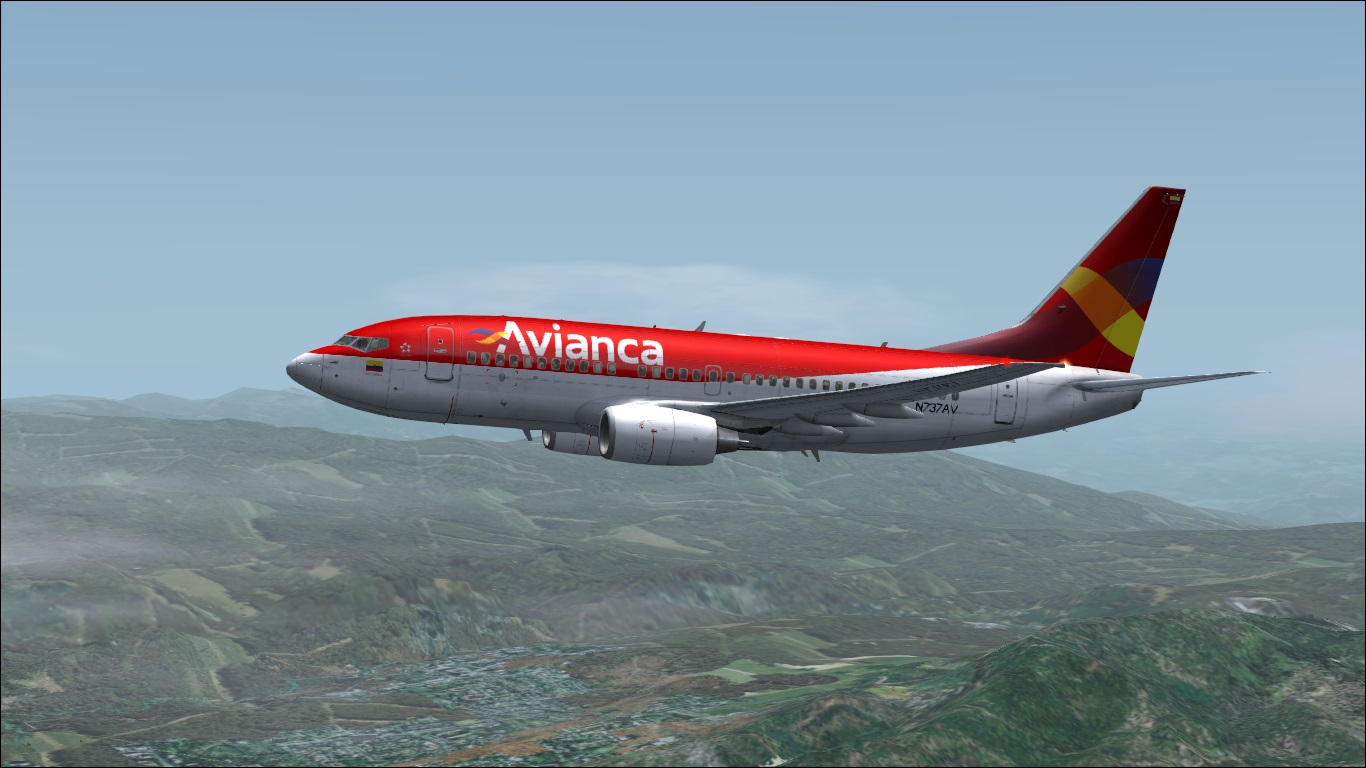 FS9 iFly 737-700 Avianca (Fictitious)