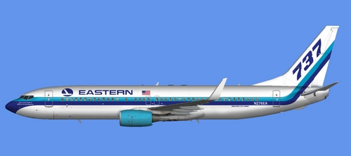 FS9 iFly 737-800 Eastern Airlines 2015